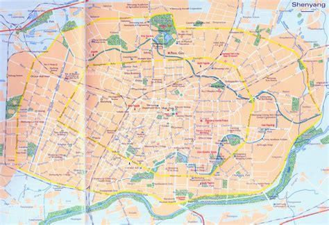 Shenyang Maps - ChinaTour360.com
