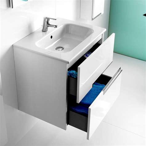 roca n 2 drawer vanity unit with basin uk bathrooms