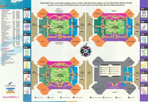 mall of america floor plan the american mall of america on map pictures to pin on