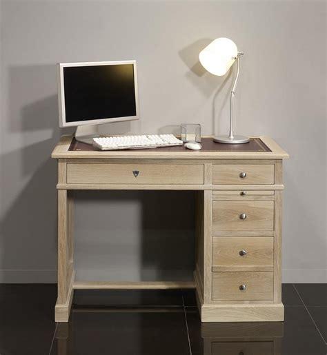 bureau chene blanchi petit bureau luc en ch 234 ne de style louis philippe finition