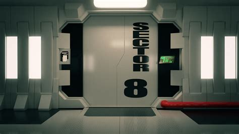 Futuristic Doors | futuristic door stock footage video shutterstock