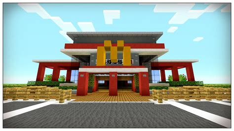 when was minecraft made minecraft mcdonalds inside i made a minecraft mcdonalds