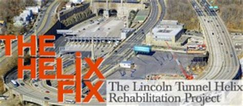 lincoln tunnel closures lincoln tunnel helix rehab to cause closures for 3 years