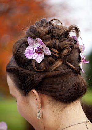 Wedding Hair With Orchids by 1000 Images About Orchid Crowns Headpieces On