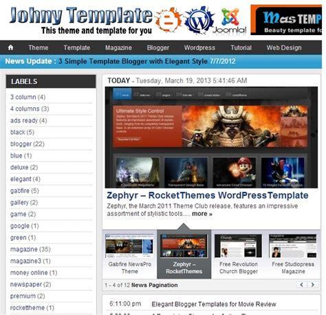 template joomla keren 7 template blog keren novaldy s blog