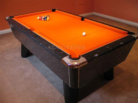 orange pool table cloth supreme winner pool table black marble high gloss with
