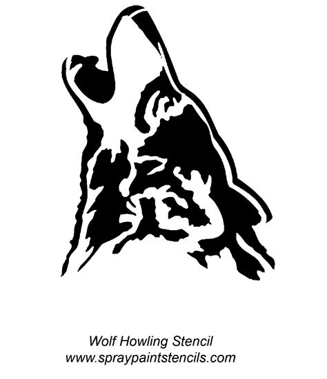 spray painting using stencils spray paint stencils wolf howling artists that