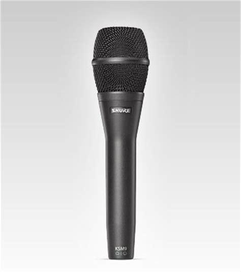 Mic Condensor Shure Ksm 888 shure ksm9 cg handheld premium condenser vocal microphone