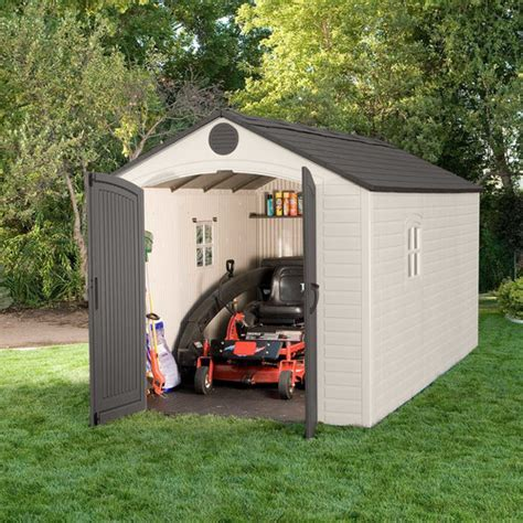 15 X 15 Storage Shed by Lifetime 8 Ft W X 15 Ft D Plastic Storage Shed Reviews Wayfair Supply