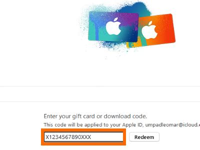 How To Use A Gift Card On Itunes - how to redeem itunes gift cards using your computer