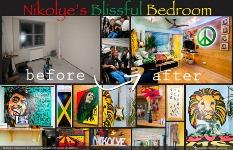 bob marley themed bedroom nikolye s bedroom makeover blissfulbedrooms