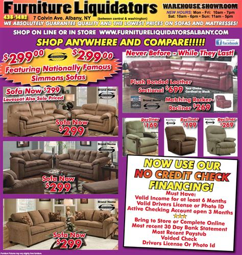 Furniture Liquidators Albany by Bedroom Furniture Albany Nymattresses Sofas More Furniture