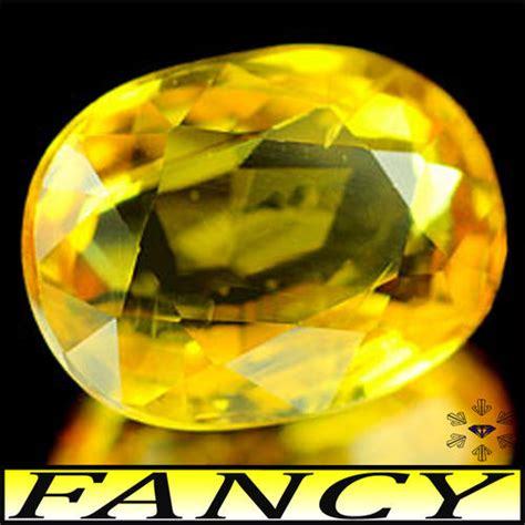 Yellow Saphire Heated Only sapphires 1 28ct yellow sapphire vs thailand fancy classic finished oval gem