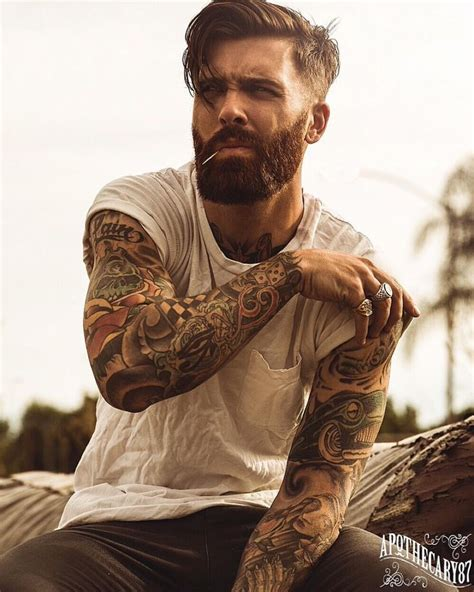1000 ideas about men sleeve tattoos on pinterest