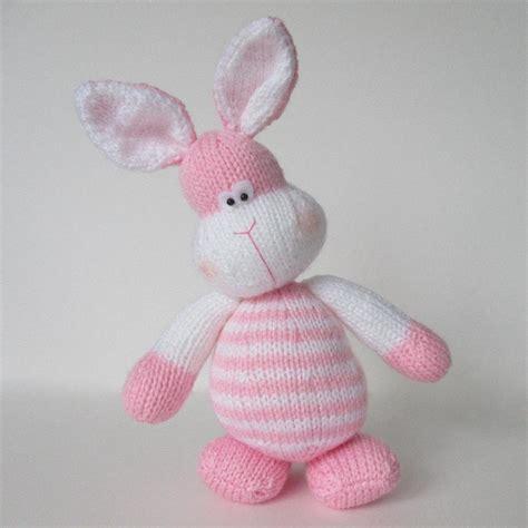 bunny knitting pattern free marshmallow bunny rabbit knitting pattern by amanda berry
