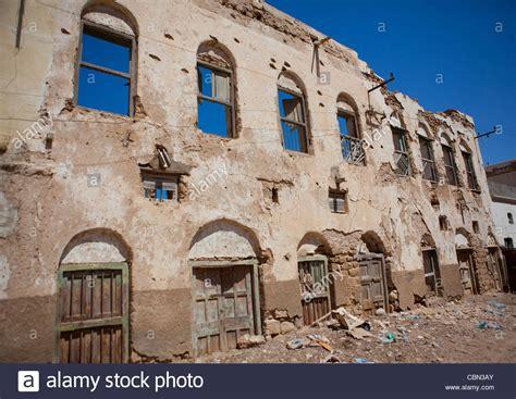 former ottoman empire former ottoman empire house ruin berbera somaliland stock