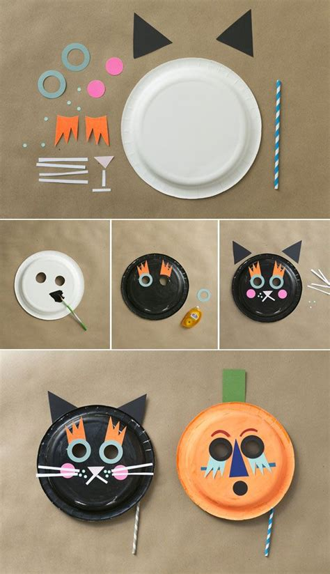 How To Make A Cat Mask With Paper - 25 best ideas about paper plate masks on