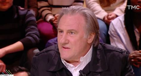 gerard depardieu quotidien replay testament de johnny hallyday pour g 233 rard depardieu