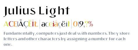 juliusdesign font julius light fonts com