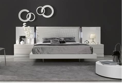 premium modern bedroom contemporary bed modern bed  york ny  jersey nj glass