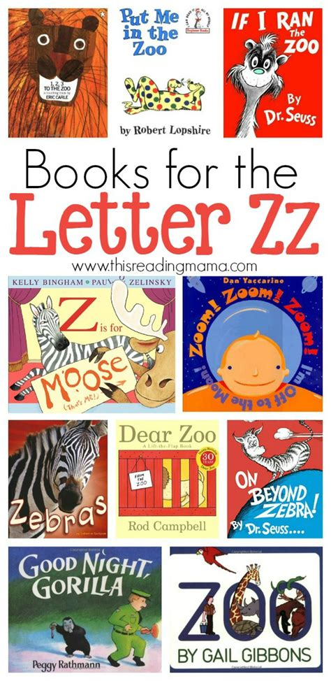 z books letter z book list