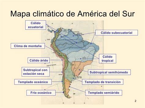 america mapa de climas climas y biomas