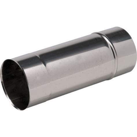 tuyau rigide simple paroi inox longueur 1 m diam 232 tre