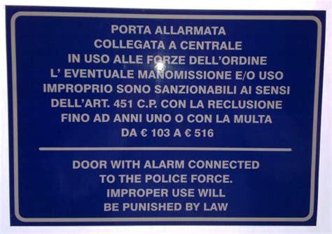 porte allarmate linate e le porte allarmate italians