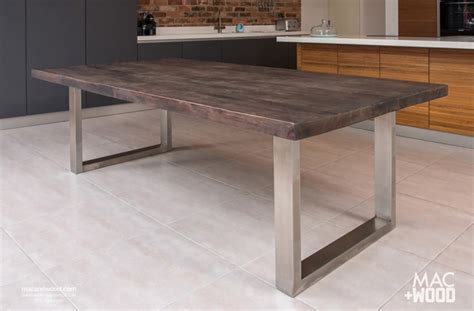 wooden kitchen table the signature table by mac wood see our most popular design