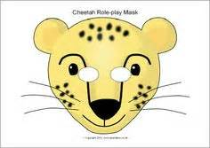 cheetah mask template printable masks on 136 pins