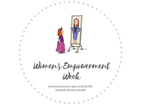 girl empowerment themes first su women s empowerment week to take place april 3 7