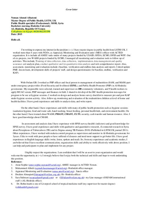 Ese Specialist Cover Letter by Coverletter