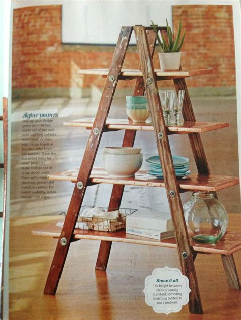 How To Build Ladder Shelf by 25 Great Ideas About Ladder Shelves On