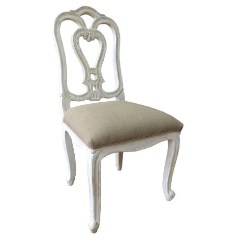 dining chairs shabby chic a beautiful style shabby chic dining chair in white