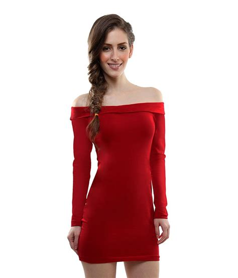 Buy For Miss by Miss My Shoulder Bodycon Dress