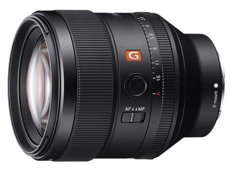 Sony Lens Sel Fe 85mm F1 4 Gm sony e mount black fe 85mm f1 4 gm lens sel85f14gm