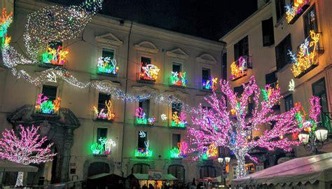 illuminazione di salerno salerno d artista fino al 24 gennaio