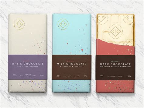 Handmade Chocolates Packaging - 50 delightfully decadent chocolate packaging designs