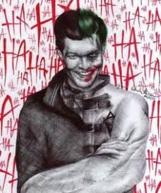 Tshirt Kaos Tees Batman Heroes Gotham City Seuseuh Beungeut t t 謫 o 谺 h a m gotham jerome valeska joker and batman