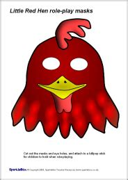 printable rooster mask template best photos of printable hen mask template printable