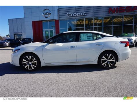 nissan maxima white 2016 pearl white nissan maxima platinum 109834680 photo