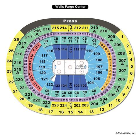 fargo center philadelphia seating chart fargo center seating charts car interior design