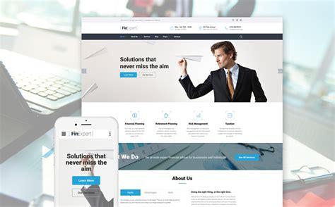 templates for finance website best web templates november 2016 entheos