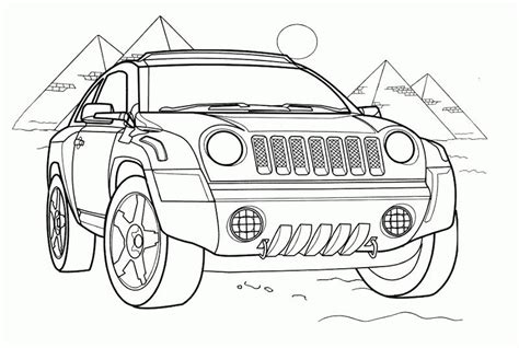 print download coloring pages for boys cars