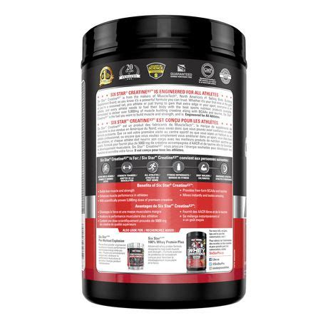 creatine x3 fruit punch review six pro nutrition creatine x3 fruit punch 2 5lb