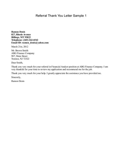 Patient Referral Letter Template best photos of business referral letter templates