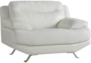 Recliner Armchair Leather Sofia Vergara Castilla White Leather Chair Chairs White