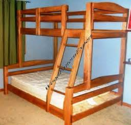 Plans For Building A Twin Over Full Bunk Bed by Bunk Bed Paper Patterns Build King Over Queen Over Full Over Twin Easy Diy Plans Ebay