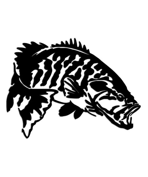 tribal bass fish tattoos 1000 images about stuff to make on wolves