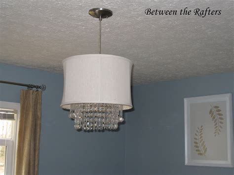 chandelier drum l shades remodelaholic 25 gorgeous diy chandeliers